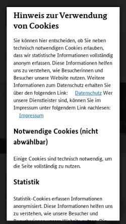 Vorschau der mobilen Webseite www.foerderinfo.bund.de, Forschungs- und Innovationsförderung für KMU