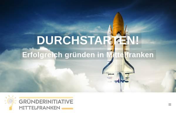 Vorschau von gruenderinitiative-mittelfranken.de, Gründerinitiative Mittelfranken