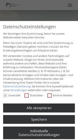 Vorschau der mobilen Webseite www.seakademie.de, Social Entrepreneurship Akademie