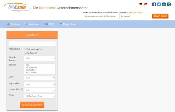 Vorschau von www.biz4.sale, Biz4sale - Stemas AG
