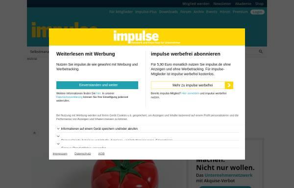 Vorschau von www.impulse.de, Impulse - Impulse Medien GmbH