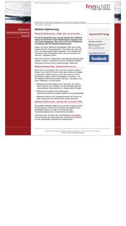 Vorschau der mobilen Webseite feynschliff.de, feynschliff - Anja Sauerwald