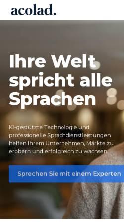 Vorschau der mobilen Webseite translation-probst.com, Translation-Probst AG