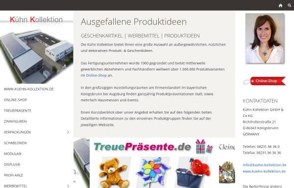 Vorschau von www.kuehn-kollektion.de, Kühn Kollektion GmbH & Co KG