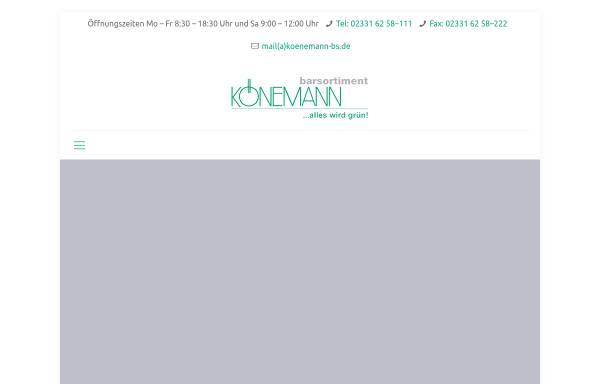 Vorschau von www.koenemann-bs.de, Barsortiment Könemann Vertriebs GmbH