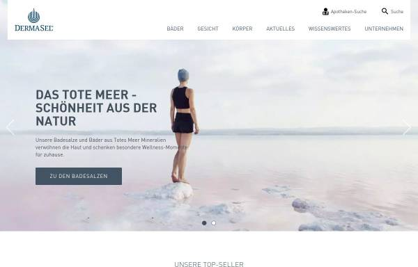 Vorschau von www.dermasel.de, Fette Pharma AG