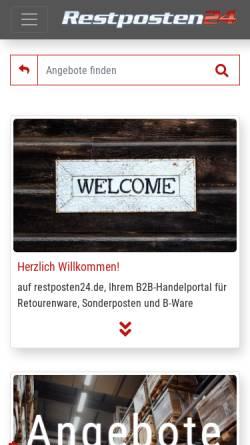 Restposten24 Gmbh In Ginsheim Gustavsburg Wirtschaftsdienste