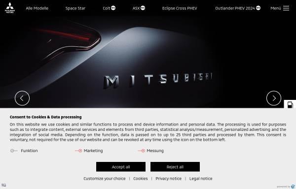 Vorschau von www.mitsubishi-motors.de, MMD Automobile GmbH