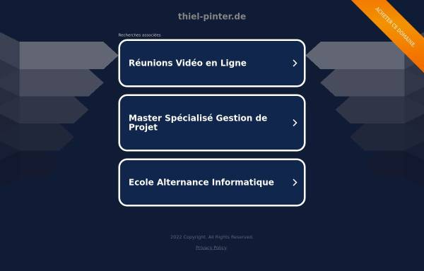 Vorschau von www.thiel-pinter.de, Ingenieurbüro Thiel und Pinter