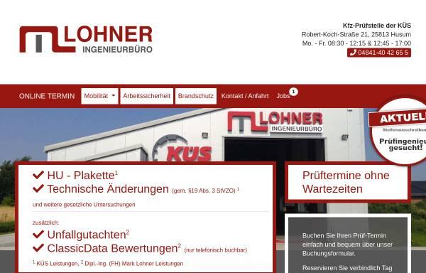 Vorschau von www.mark-lohner.de, Ingenieurbüro Lohner