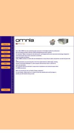 Vorschau der mobilen Webseite www.omnia-foto.de, Omnia Fotolabortechnik GmbH