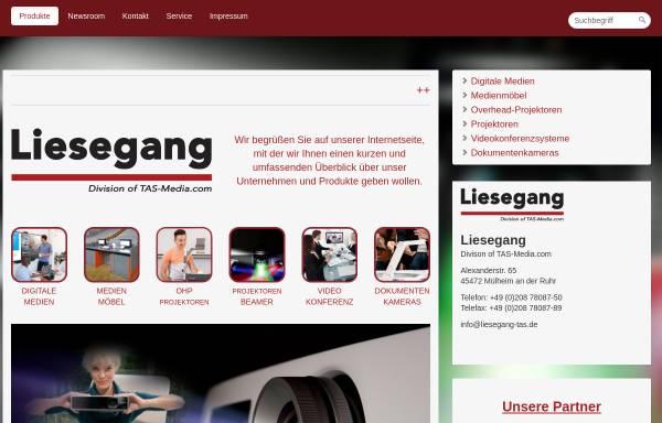 Vorschau von liesegang-tas.de, Liesegang