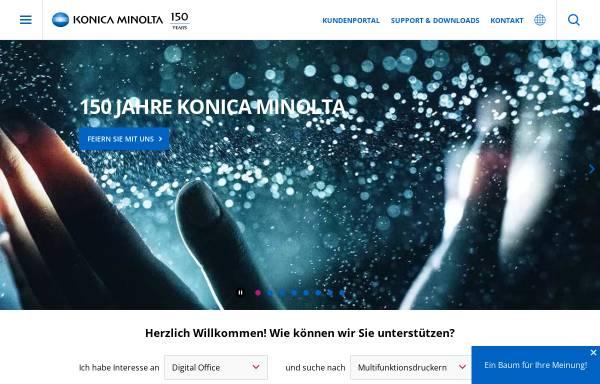 Vorschau von www.konicaminolta.at, Konica Minolta Business Solutions Austria GmbH