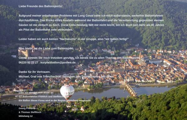 Vorschau von heidelberg-ballon.de, Heidelberg-Ballon