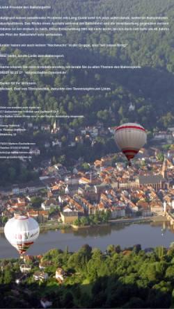 Vorschau der mobilen Webseite heidelberg-ballon.de, Heidelberg-Ballon