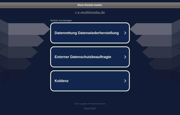Vorschau von www.r-z-multimedia.de, r-z-multimedia