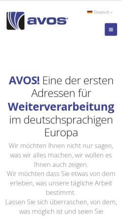 Vorschau der mobilen Webseite www.cinram.de, Cinram GmbH