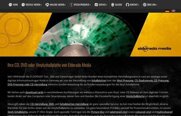 Vorschau von www.eldorado-media.com, Eldorado Ton-, Bild & Datenträger GmbH