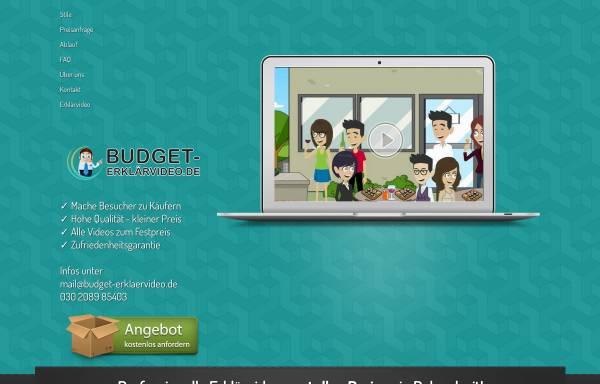 Vorschau von www.budget-erklaerfilme.de, YYM Media Solutions UG