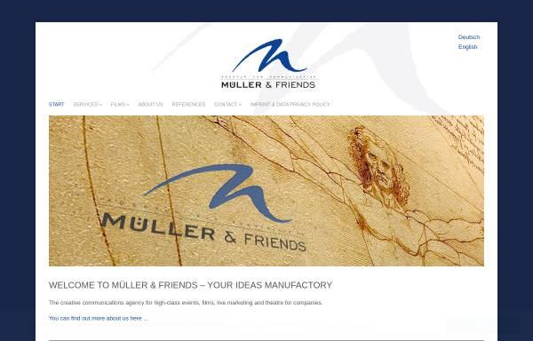 Vorschau von mueller-and-friends.de, Müller & Friends GmbH