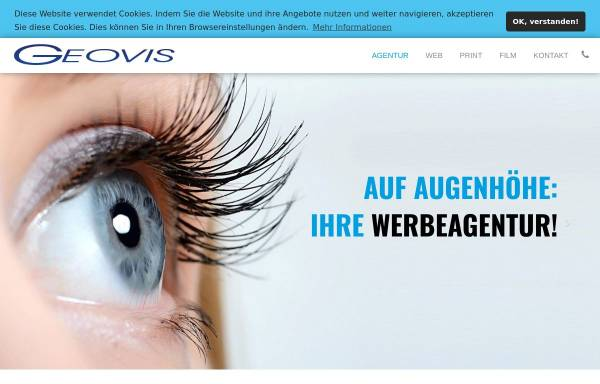 Vorschau von www.geovis.com, GEOVIS Media Services e.K.