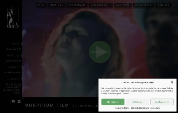 Vorschau von www.morphium-film.de, Morphium Film GbR