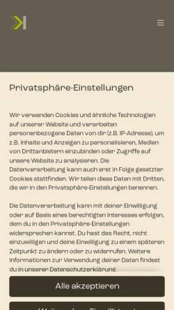 Vorschau der mobilen Webseite www.schokolade.tv, SCHOKOLADE Filmproduktion GmbH