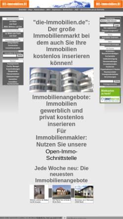 Vorschau der mobilen Webseite die-immobilien.de, Schwarzmeier GmbH Neue Medien