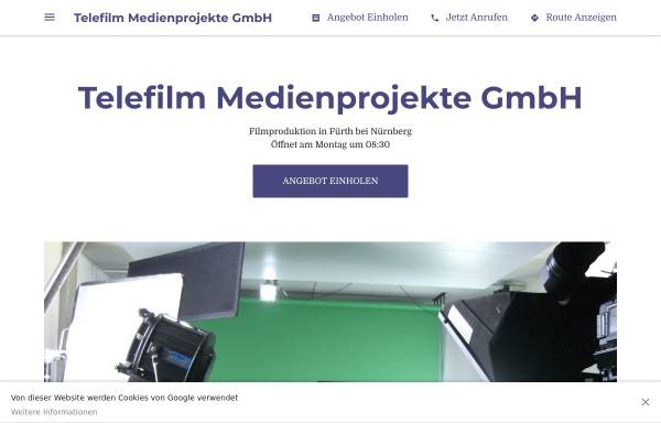 Vorschau von www.telefilm.de, Telefilm Medienprojekte GmbH
