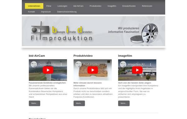 Vorschau von www.bid-filmproduktion.de, bid Filmproduktion Martina Kaaf