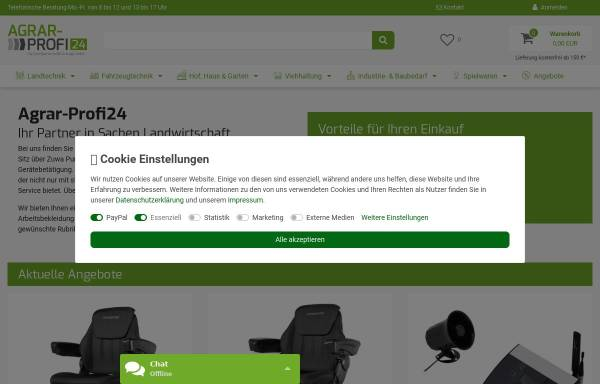 Vorschau von www.agrar-profi24.de, Erna Fitz - AgrarProfi24
