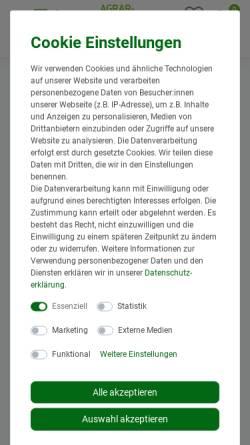 Vorschau der mobilen Webseite www.agrar-profi24.de, Erna Fitz - AgrarProfi24