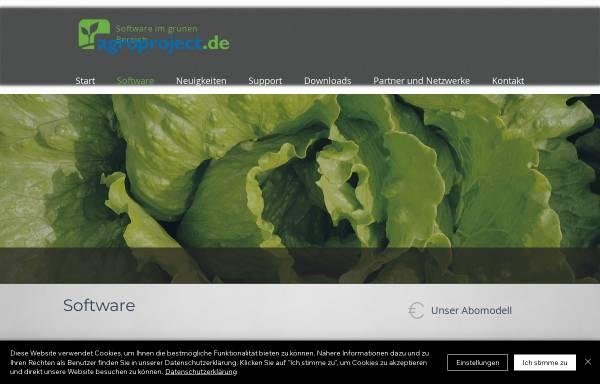 Vorschau von www.agroproject.de, Technikscheune, Agroproject GmbH & Co. KG