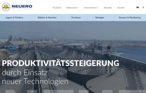 Vorschau von www.neuero-farm.de, Neuero Farm- und Fördertechnik GmbH