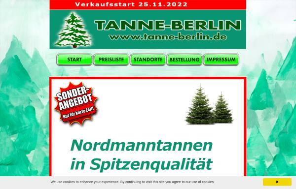 Vorschau von www.tanne-berlin.de, Tanne-berlin.de, Hans-Jürgen Kadereit