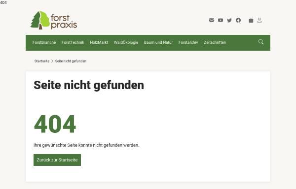 Vorschau von www.forstpraxis.de, Deutscher Waldbesitzer