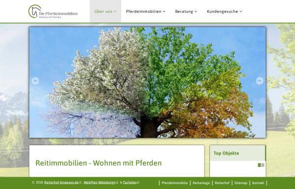 Vorschau von www.reiterhof-anwesen.de, Reiterhof-Anwesen, Gerd Hobrecht