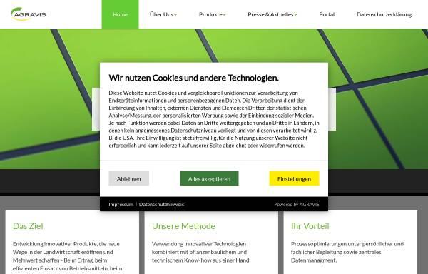 Vorschau von www.netfarming.de, Agravis NetFarming GmbH