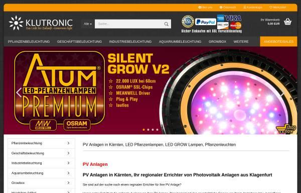 Vorschau von klutronic.com, Klutronic GmbH