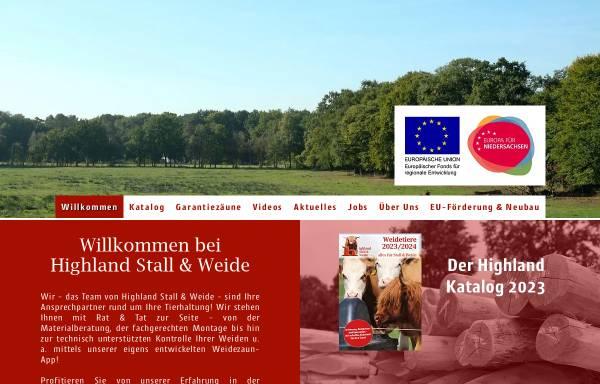 Vorschau von hsuw.de, Highland Stall & Weide GmbH