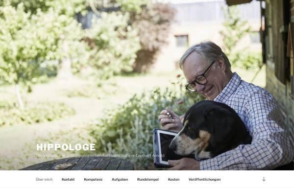Vorschau von www.hippologe.de, Dietbert Arnold
