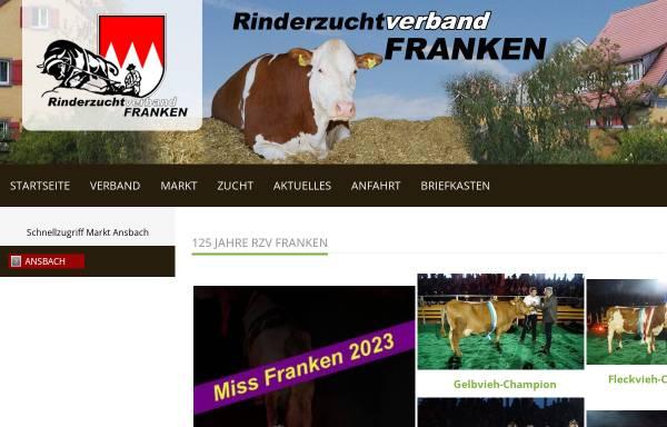Vorschau von www.rzv-franken.de, Rinderzuchtverband Franken e.V.