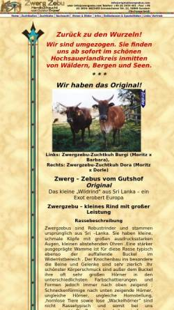 Vorschau der mobilen Webseite zwergzebu.com, Zwerg–Zebus vom Gutshof Original - Assimina Christopoulou