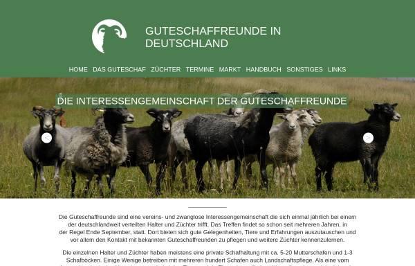 Vorschau von www.guteschaf-ig.de, Interessengemeinschaft der Guteschaffreunde