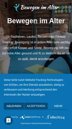 Vorschau der mobilen Webseite www.nordentrainings.de, Norden Trainings, Bunk & Lobach GbR