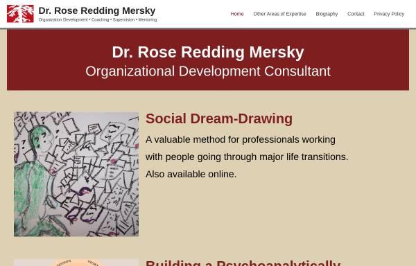 Vorschau von www.rrm-beratung.de, Rose Redding Mersky Organisationsentwicklungsberaterin und Coaching