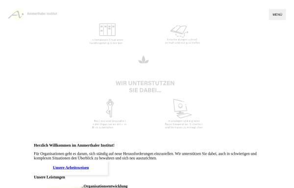 Vorschau von www.ammerthaler-institut.de, Ammerthaler Institut - Christine Lehner und Sabine Weihe