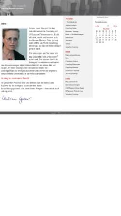 Vorschau der mobilen Webseite www.world-wide-coach.de, world wide coach - Christiane Grabow