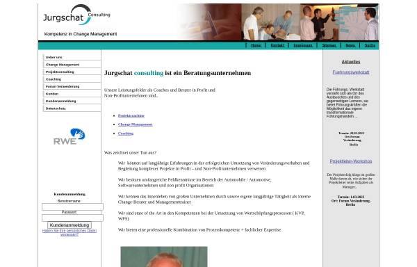 Vorschau von jurgschat-consulting.eu, Jurgschat Consulting