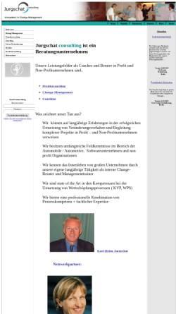 Vorschau der mobilen Webseite jurgschat-consulting.eu, Jurgschat Consulting